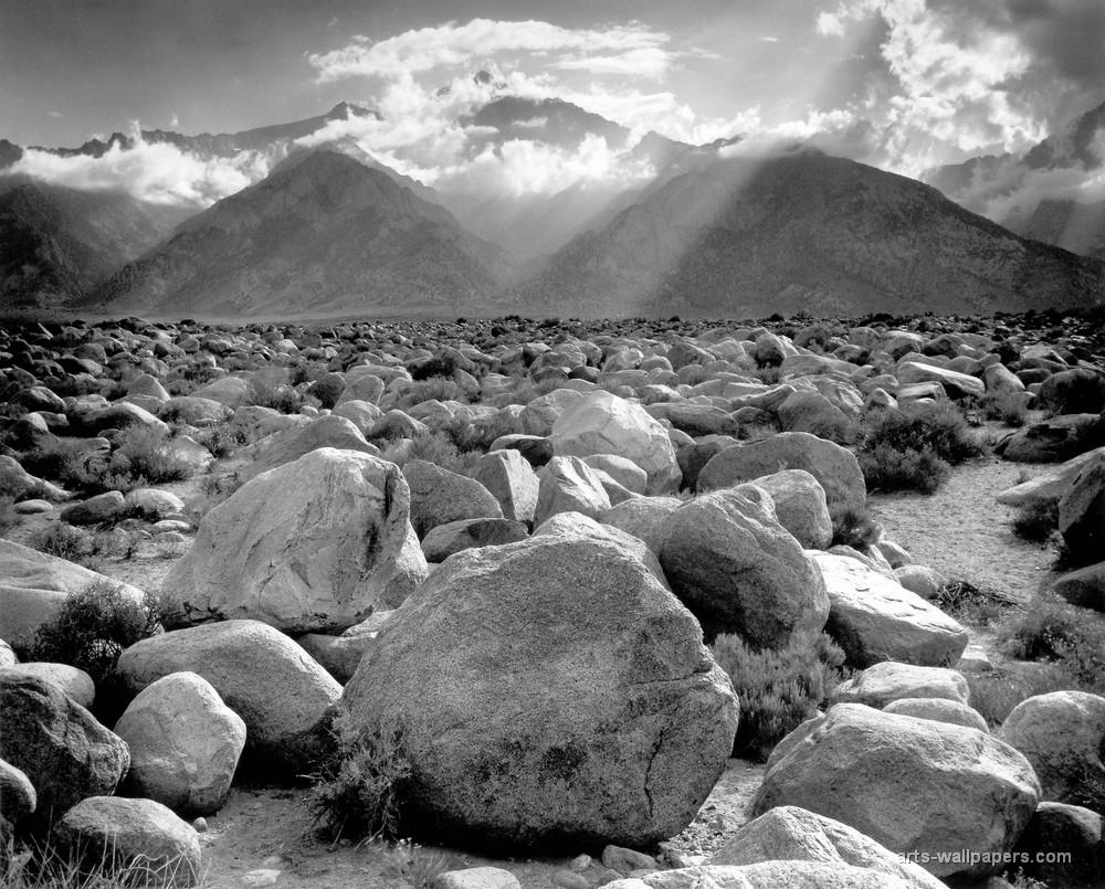 фотография Энзеля Адамса 1944