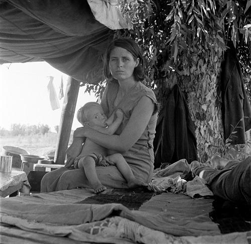 Фотография Доротеи Ланге, 1936 год
