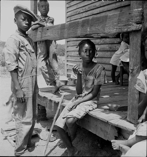 Доротея Ланге, 1930, дети Дельты Миссиссиппи