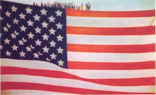 Арт Кейн, Американский флаг, 1962