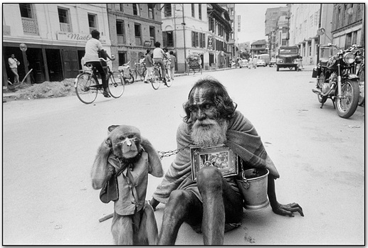 Beggar, Katmandu, India, 1971