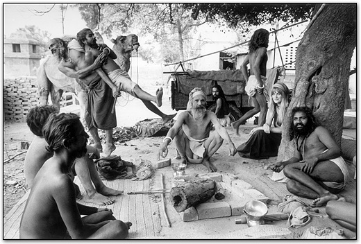 School For Sadhus Benares, India 1971