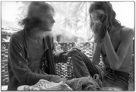 Hash Smokers, Goa, India, 1971