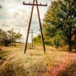 Фото столба для электрических линий