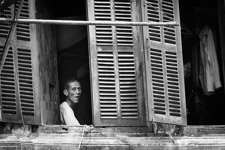 My admiration for Cartier-Bresson is evident in my love of black-and-white street photography.