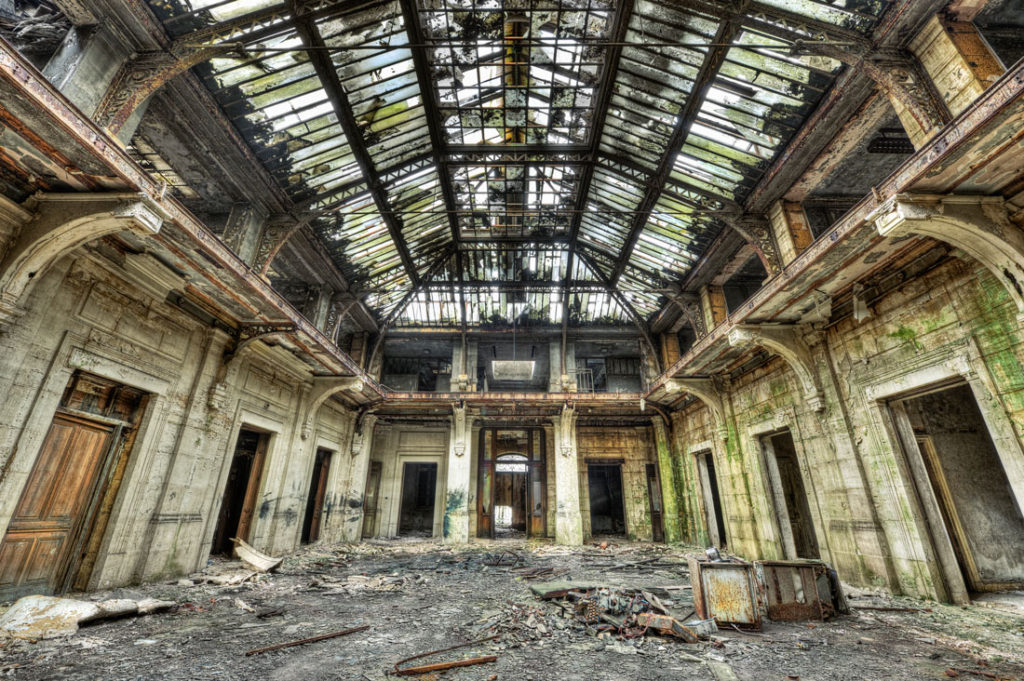 Abandoned places photography 1