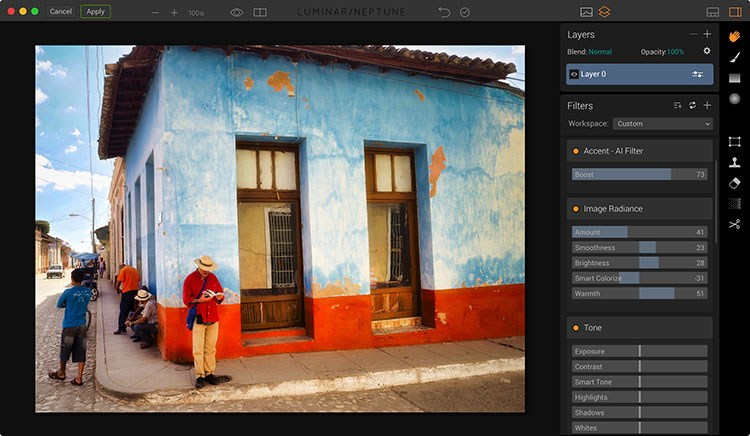 Luminar Lightroom plugin