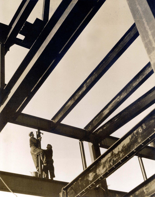 Строительство центра Рокфеллеров