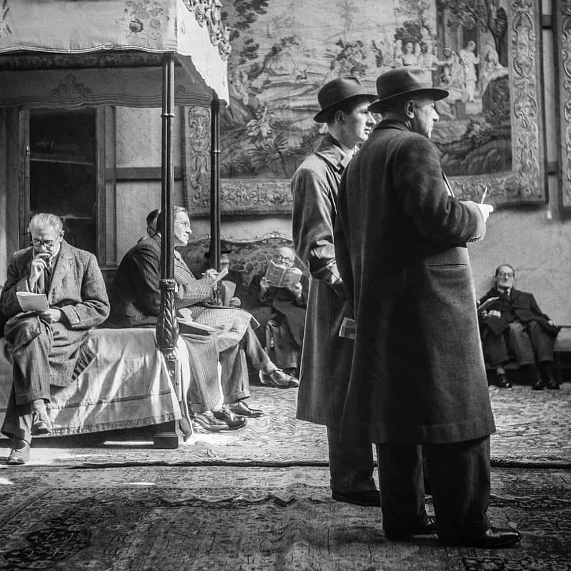 Фото дня: аукцион Сотбис 1954 года