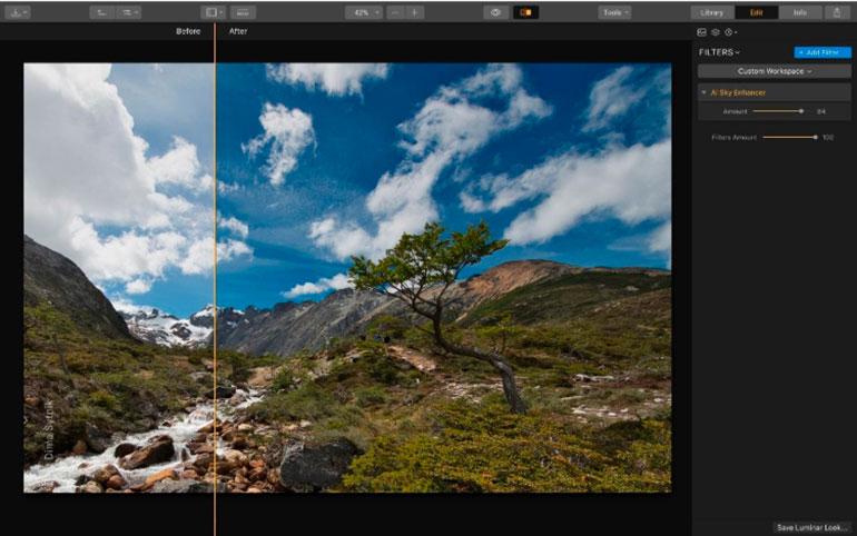 Редактирование фото за пять минут в программе Luminar 3