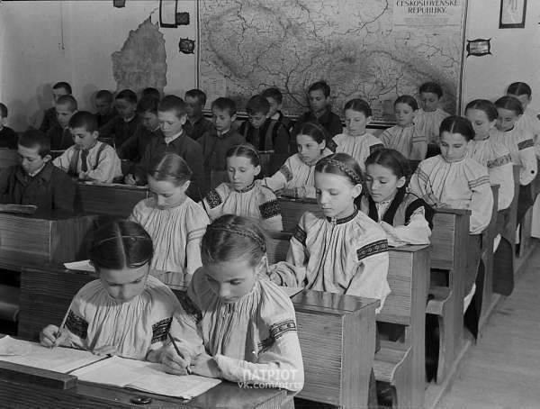 Ученики закарпатской школы 1920-1939 г