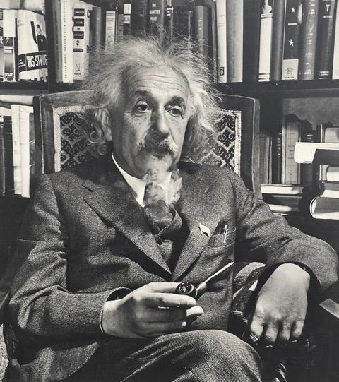 Редкий портрет А.Эйнштейна Дэвида Эйзендрахта