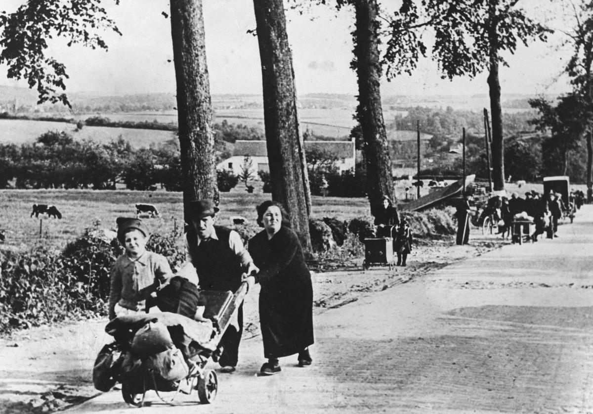 Франция исход 1940 г