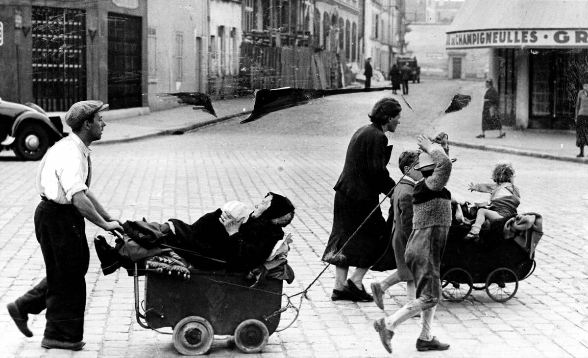 Исход, Париж 1940 год | Roger Viollet