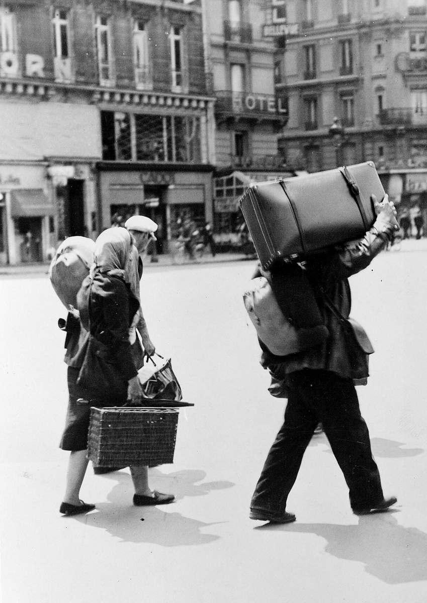 Париж, площадь Рима, 12-13 июня 1940 г.