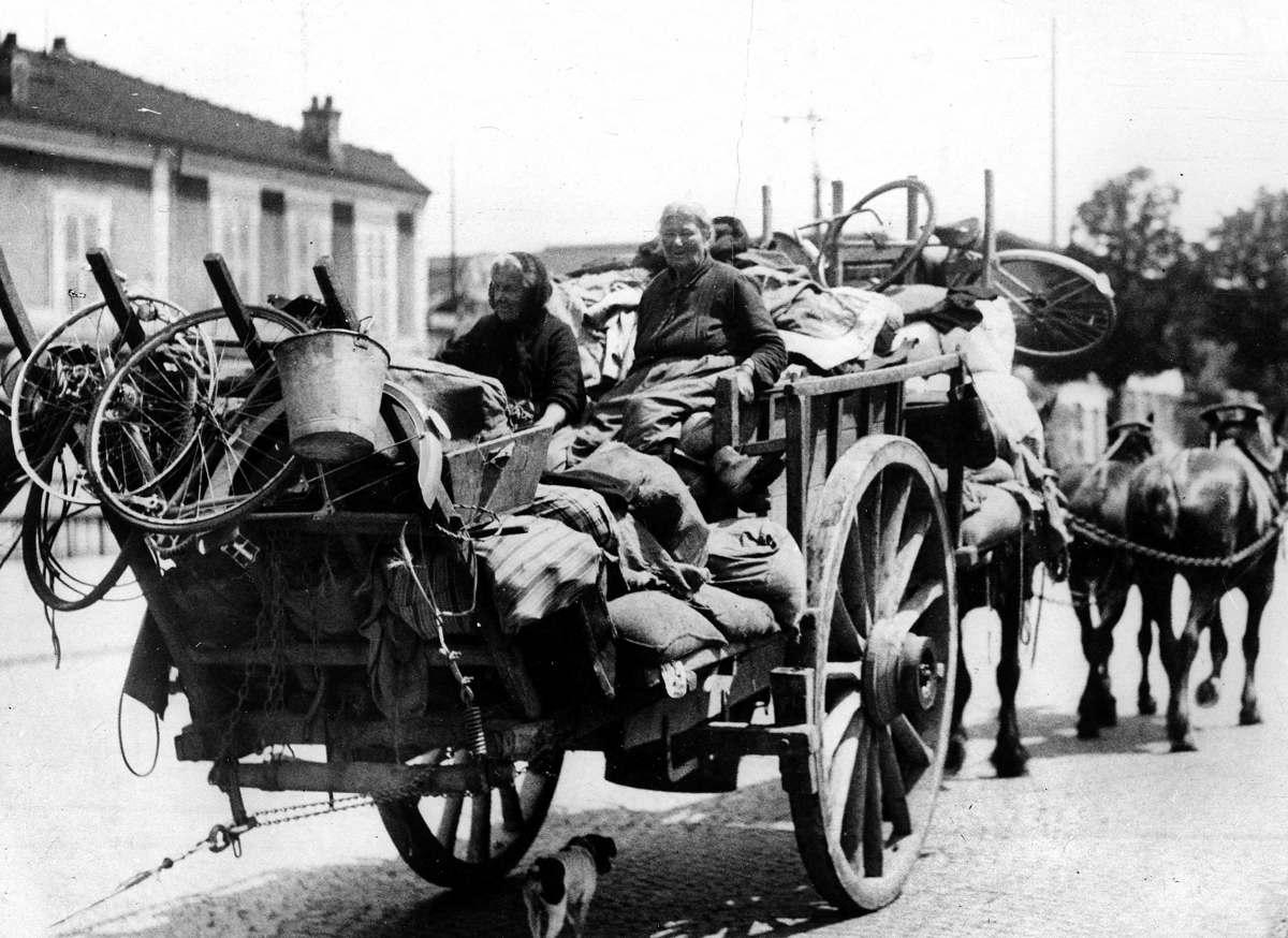 Исход 1940 года, Париж