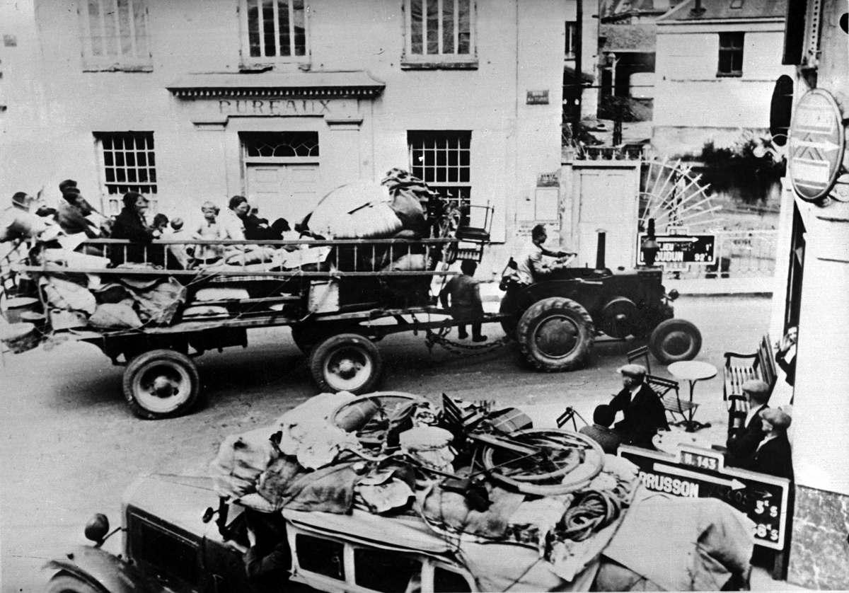 Марн (Франция), 1940 г.
