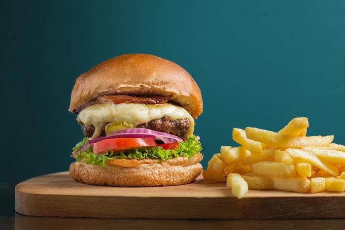 фото вкусного бургера